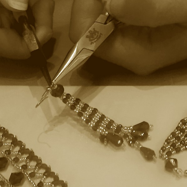 beading class hen party