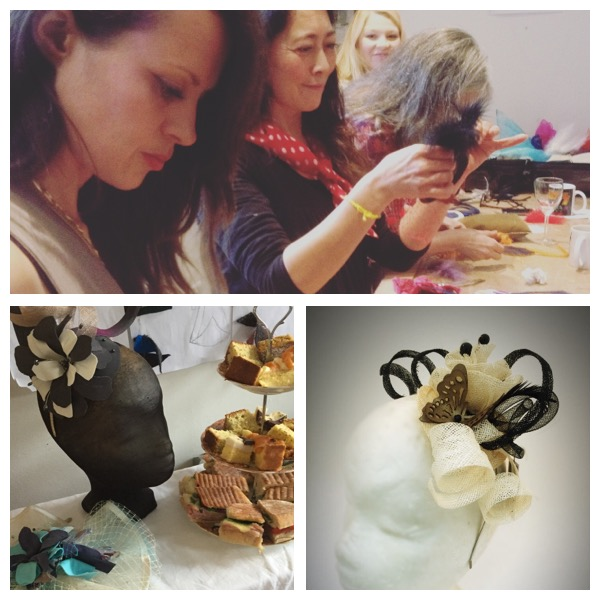 Millinery afternoon tea class at The Design House